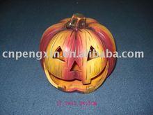 ceramic pumpkin with tealight holder