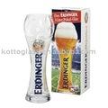 1600, cerveza de vidrio balón de fútbol de diseño