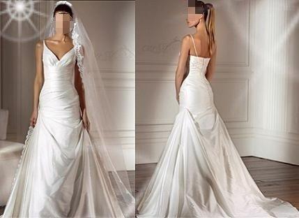 Used dress plus size vintage wedding Used