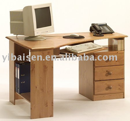 Bureau ordinateur en coin images for Bureau de coin