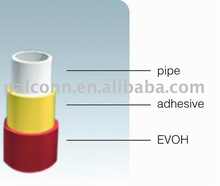 ASTM standard EVOH PEX-b oxygen barrier pipe