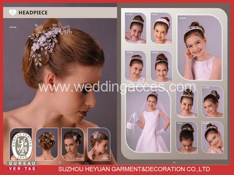 Trendy bridal tiaras and bridal headpieces 2011
