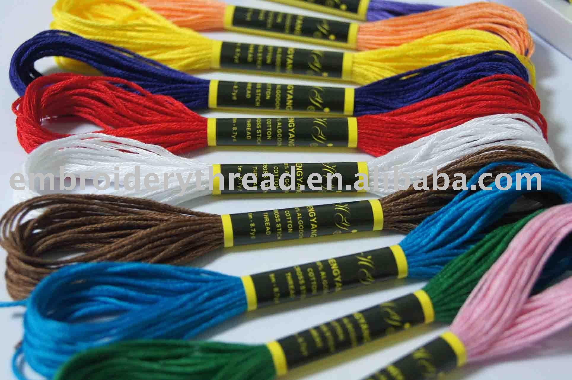 Cotton Stitching Thread Cotton Cross Stitch Thread