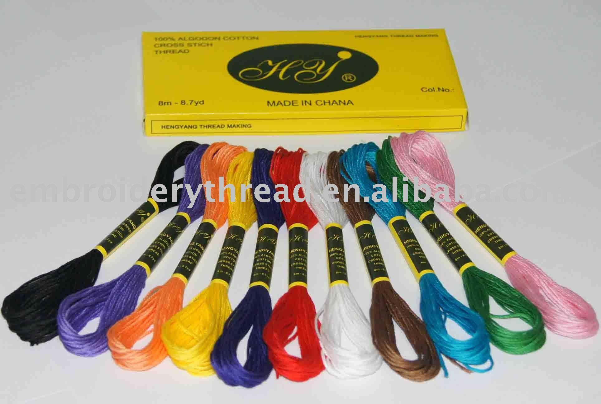 Cotton Stitching Thread Cross Stitch Thread
