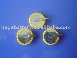 LIR 2032 button cell battery