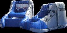 inflatable basketball game