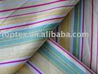 100% cotton poplin Longitudinal stripes printed fabric for garment