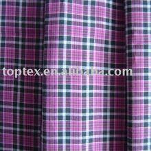 yarn dyed poplin/check shirting fabric/cotton poplin