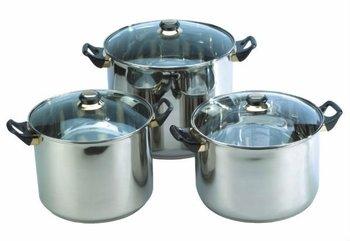 6pcs cookware set juego bateria de cocina buy stock pot - Bateria de cocina ...