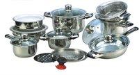 21pcs heavy cookware set, bateria de cocina