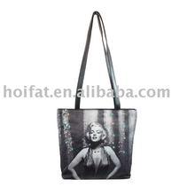 Shoulder Bag Optical Fiber Tote Bag Photo Printing Bag Polyester Handbag PVC Flash Bag PU Light Bag Cheap Good Promotion