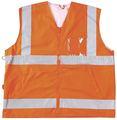 Chaleco de alta visibilidad, ropa de trabajo, uniforme, chaleco, cinta reflectante, de la seguridad, de la seguridad