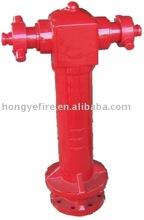 2 way pillar hydrant