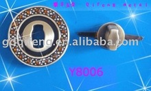 2012 new round bag lock with diamonds