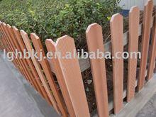 wood plastic fence