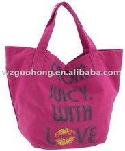 fashion canvas handbag