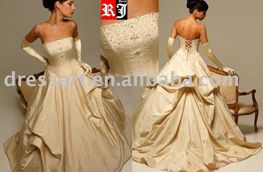 Yellow Wedding Dress Photos amp Ideas  Brides