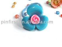 Fashion Pink and Blue Flower headwear