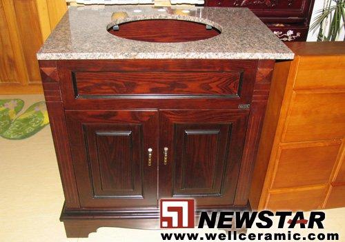 Accesorios De Baño En Madera:Muebles para el hogar ( bañera de madera cabinety )-Tocadores de