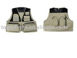 Fishing Vests, life vests, fishing tackle, FV-001