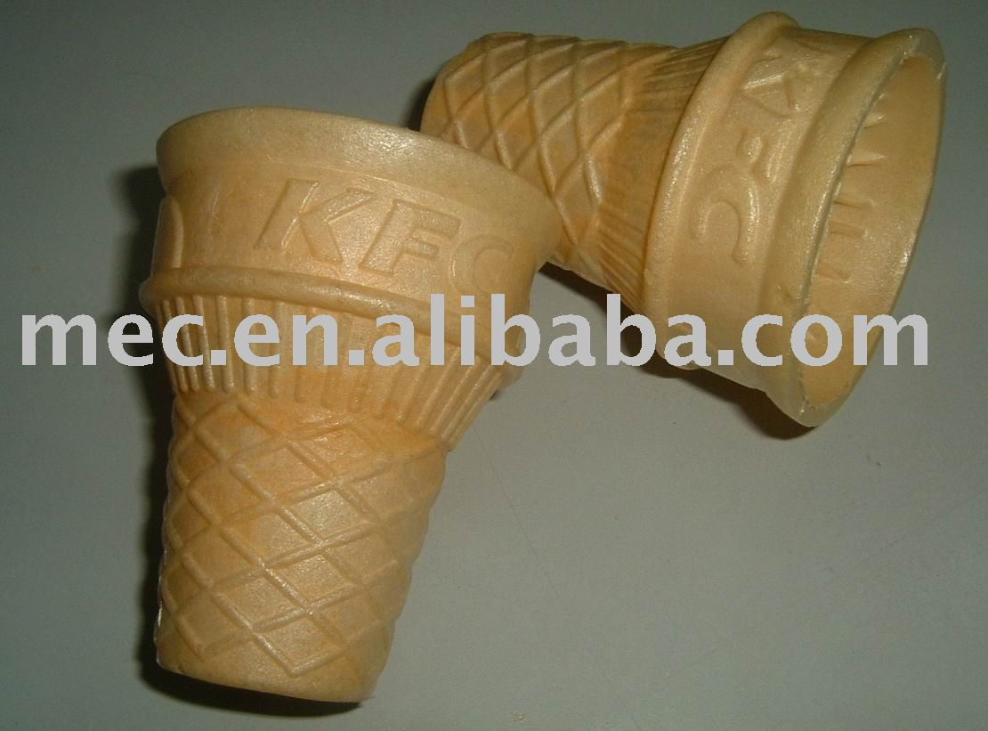 Cornet de crème glacée ; cornet de crème glacée tasse ; cornet de crème glacée petit gâteau pan