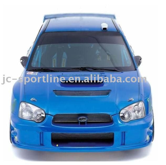 See larger image: FRP WRC design front bumper for subaru impreza 8