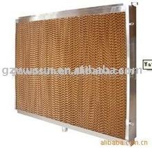 evaporative wet curtain