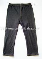 10pcs/lot 2011 new style fashion black cotton women`s jean leggings,tight pants,basic legging Q0001