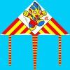 lovely delta kite for children