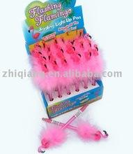 feather flashing pen