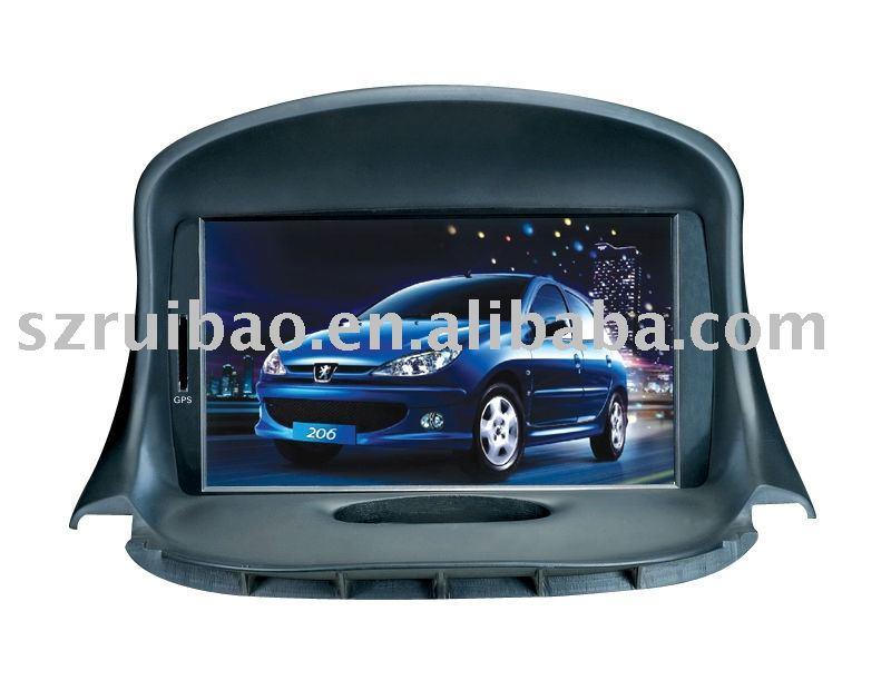 PEUGEOT 206 car video