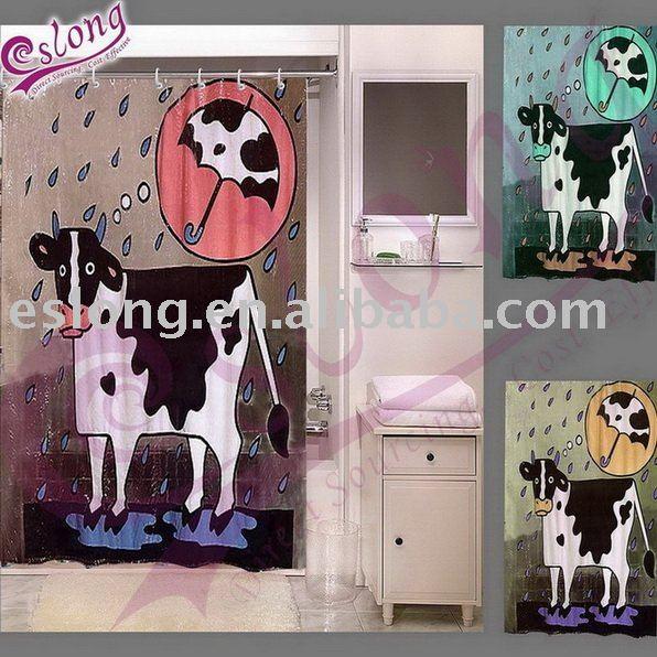 Rust Shower Curtain - Shower Curtains