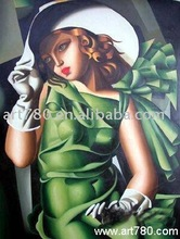 Famous art oil painting