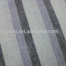 Linen FABRIC/Linen cotton Fabric/Yarn Dyed Linen Fabric