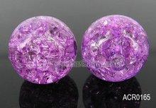 Crackle beads,acrylic