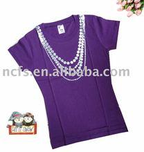 Hot! Newest fashion girls tshirt, tshirts