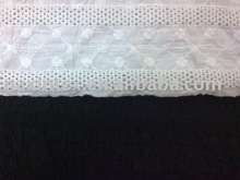 eyelet embroidery english cotton fabric(for lady dress)