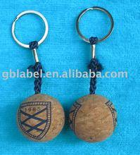 fashion cork key holder