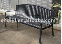 2012 Outdoor public Carbon Steel Park Bench