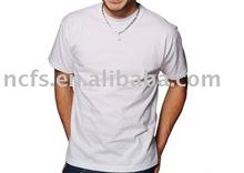Good Price High quality 100%Cotton Men's plain white T shirt