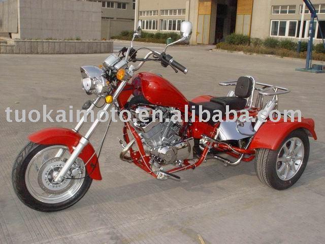 250cc V twin cylinder EEC trike chopper