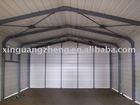 light steel structural prefabricated garage design and installation
