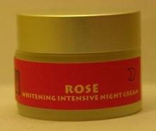 rose whitening night cream
