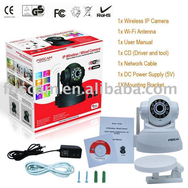 Wireless Internet Camera