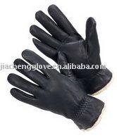 Black deer drive glove