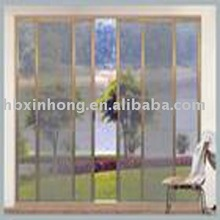 grey fiberglass screen netting