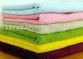 toallas de algodón de la tela