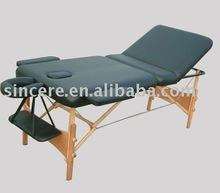 portable massage table / wood massage table