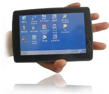 "5"" 5 inch touch screen small pc computer or handheld computer pc device - arm based windows CE os DVB-T GPS optional"