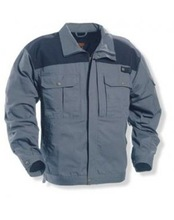 Grey Polycotton Jacket